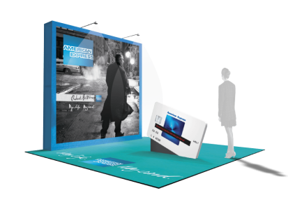 American Express: promotional display