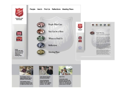 Salvation Army: website