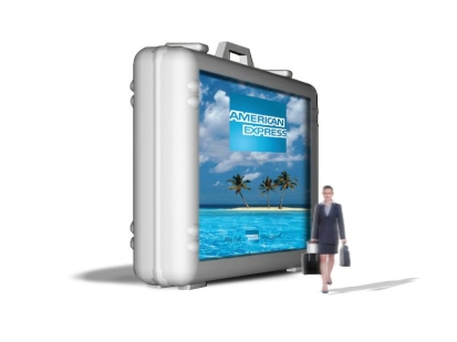 American Express Travel: digital media fixture