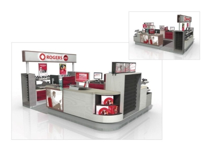Rogers Communications: store kiosk