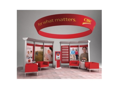CIBC: interactive display fixture