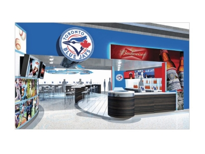 Blue Jays: fan experience lounge