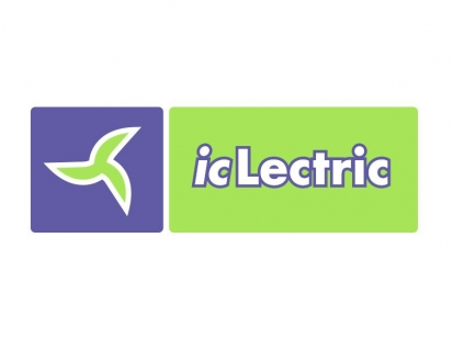 icLectric Landscaping: logo