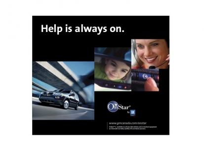 GM Canada OnStar: print collateral
