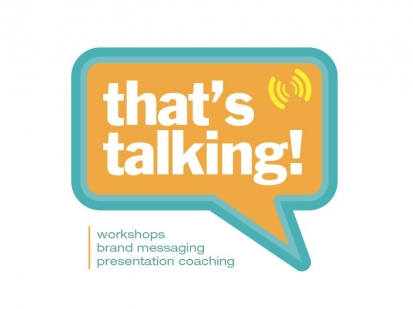 Thats-Talking: logo