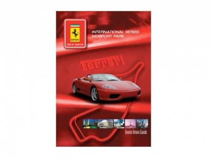 Ferrari Club of America: event magazine and collateral