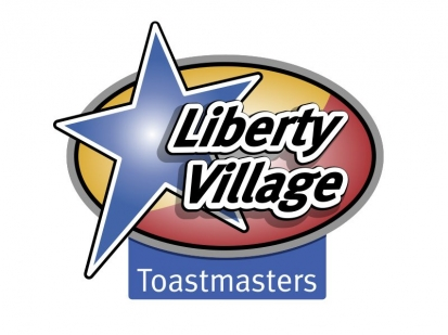 Liberty Village Toastmasters: brand identity and collateral