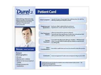 Medical Futures: print collateral