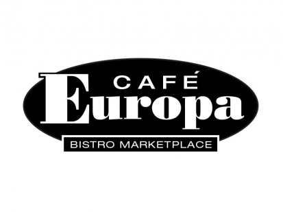 Europa Cafe:Brand identity and collateral