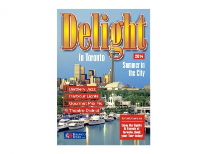 Toronto Tours: magazine cover